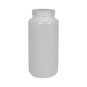 Wide-Mouth 32-Ounce HDPE Bottle - (IP2-2-32)