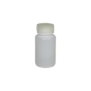 Wide-Mouth 4-Ounce HDPE Bottle - (IP2-2-4)