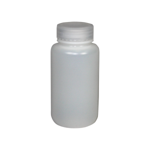 Wide-Mouth 8-Ounce HDPE Bottle - (IP2-2-8)
