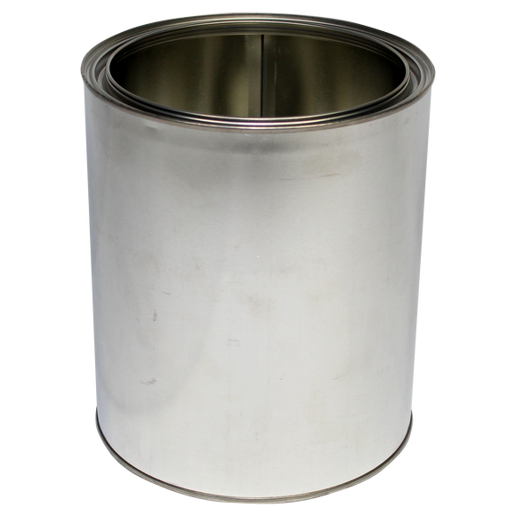 1-Gallon (US) Unlined Steel Paint Can, with Welded Seams - (IP3-1G)