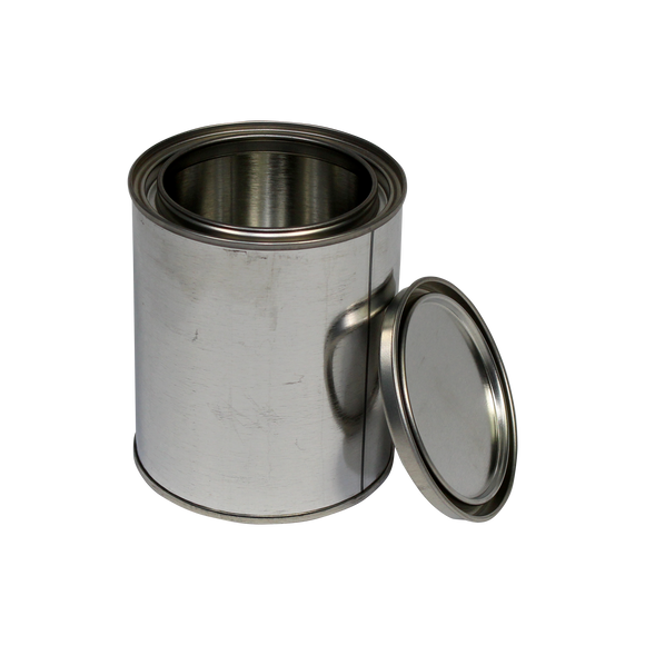 1-Pint (US) Unlined Steel Paint Can - (IP3-1P)