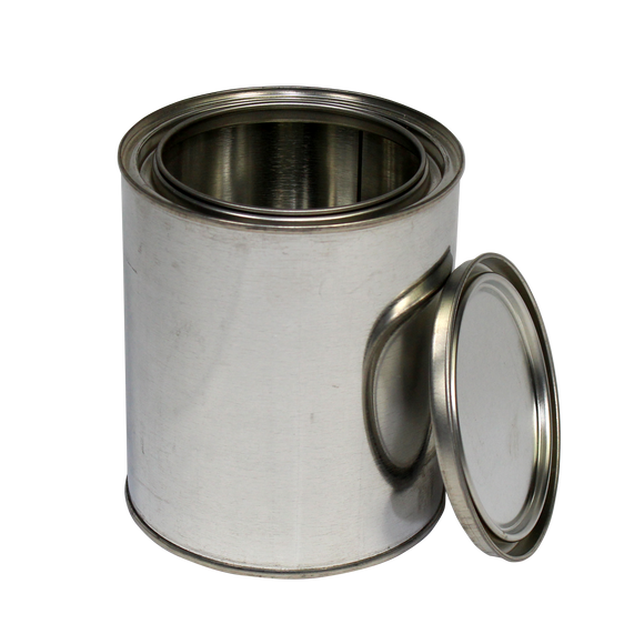 1-Quart (US) Unlined Steel Paint Can - (IP3-1Q)