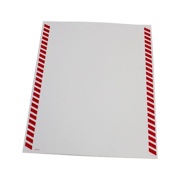 Shipper's Declaration Form for transporting DG by Air (Blank, Candy Stripe) - (SD101)