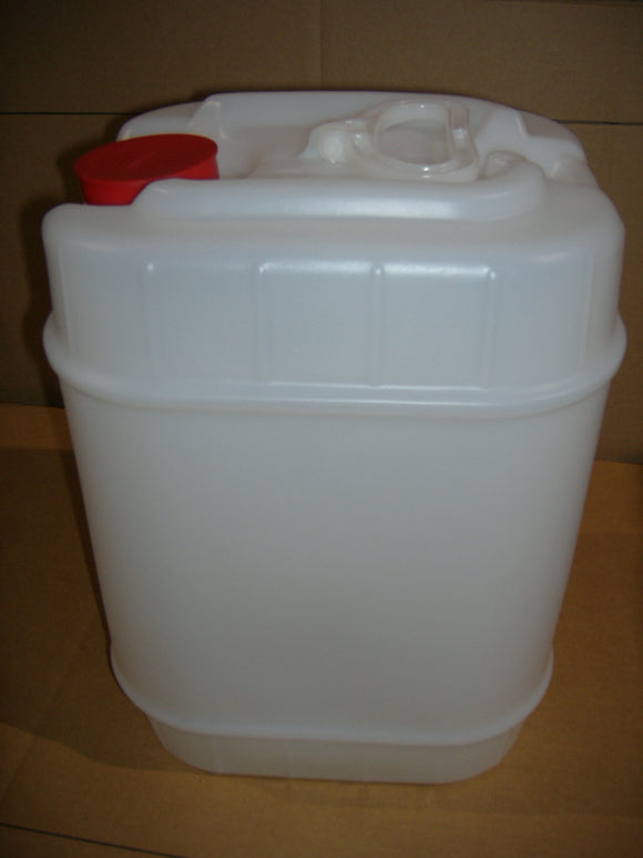 Square Closed-Head Plastic Pail - 5-Gallon - (3H1-5)