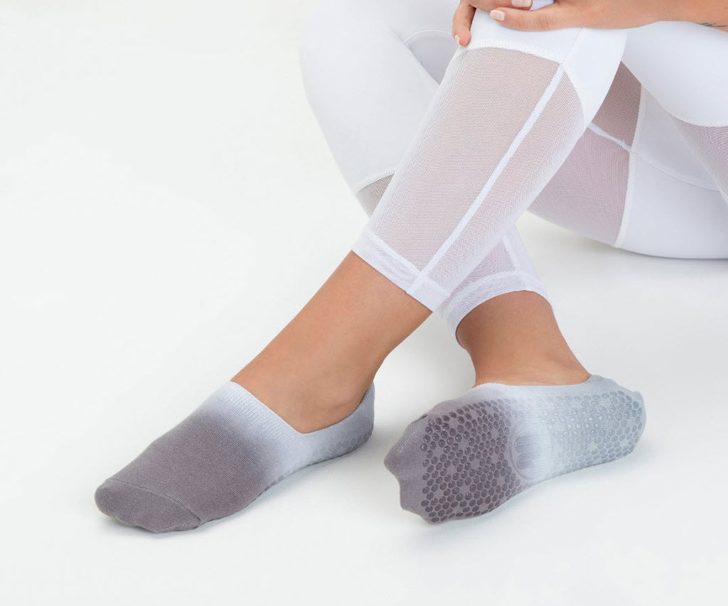 Barely There Footlet - Tie-Dye Grey