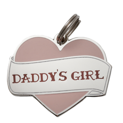 Daddy's Girl Collar Tag
