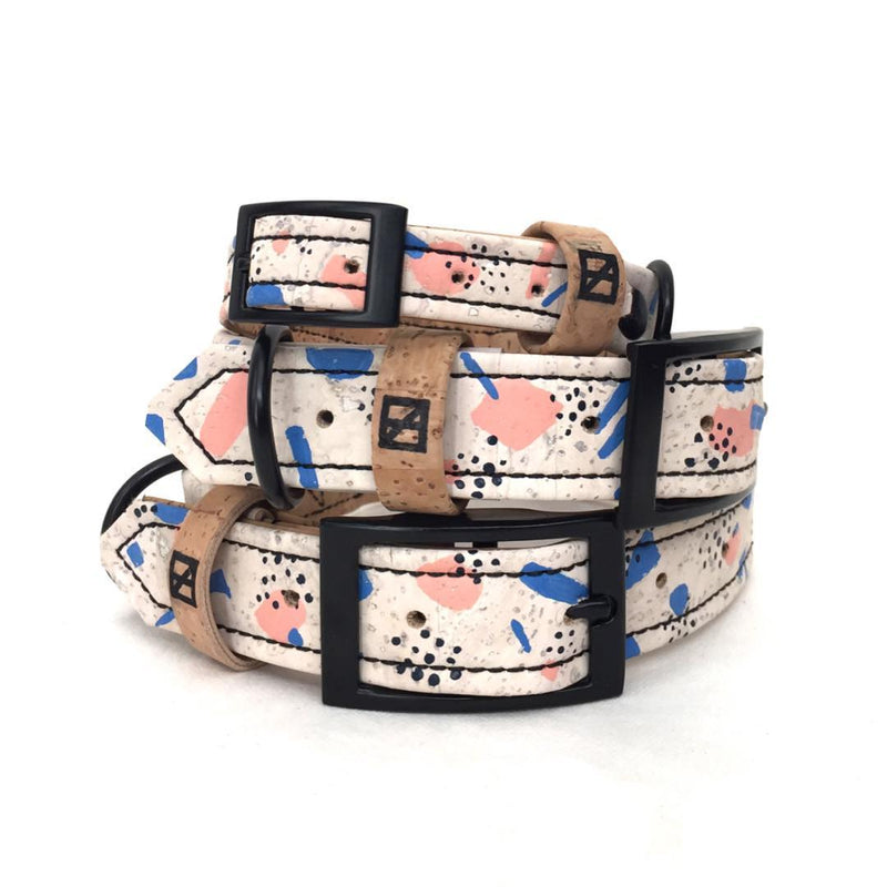 Look it Here Hand-Painted Collar - Size Medium Only