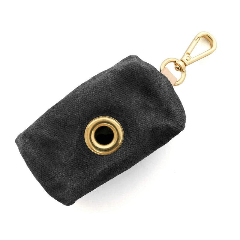 Onyx Waxed Canvas Waste Bag Dispenser