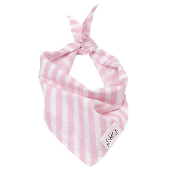 Cabana Blush Pink Stripes Bandana