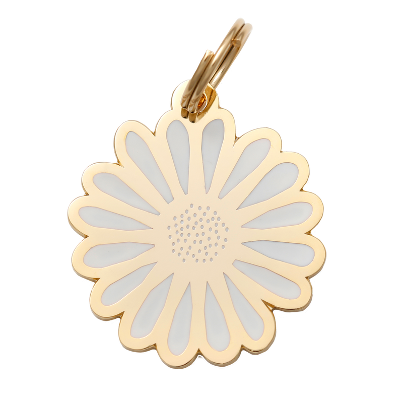 Daisy Collar Tag