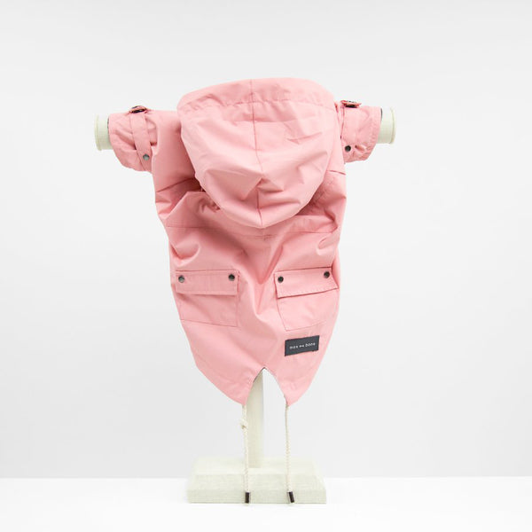Talon Raincoat - Pink