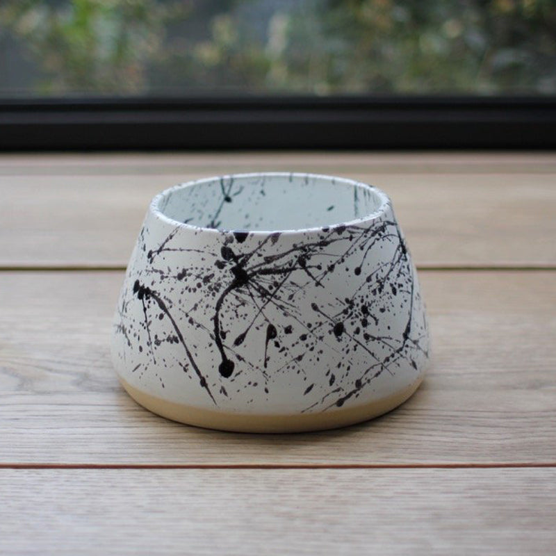 Ceramic Long-Eared Bowl - Galaxy