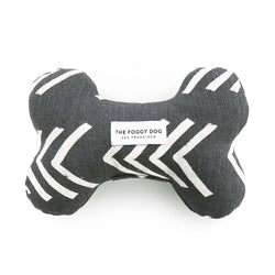 Modern Mud Cloth Black Dog Bone