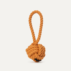 Large Twisted Rope Toy - Rust