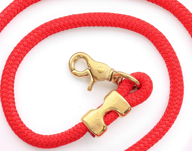 Ruby Marine Rope Leash