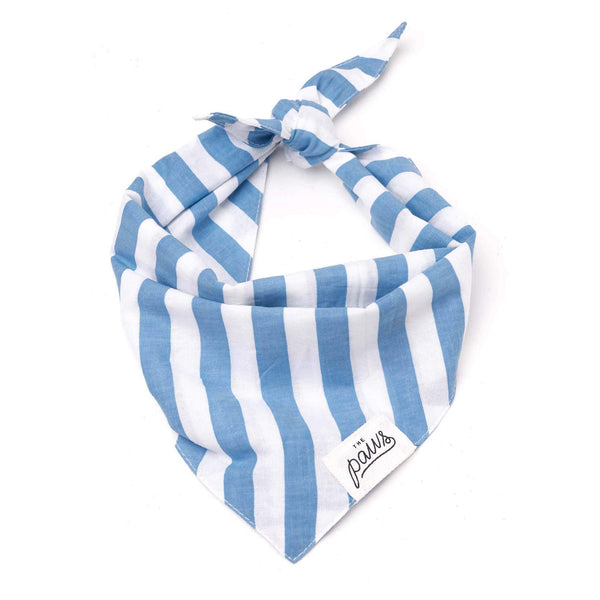 Cabana Blue Stripes Bandana
