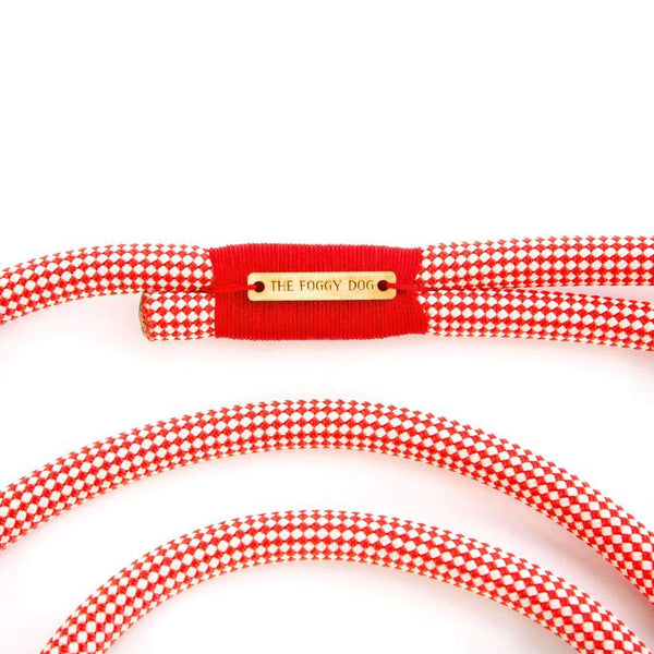 Climbing Rope Leash - Strawberry