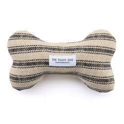Ticking Stripe Dog Bone