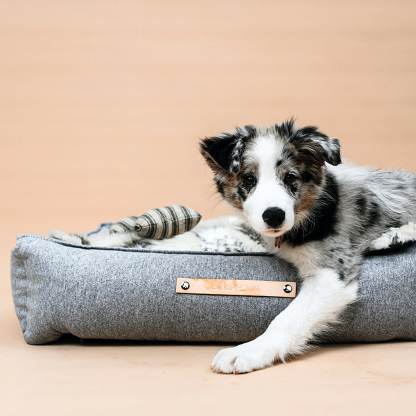 MØVIK Dog Bed - Grey