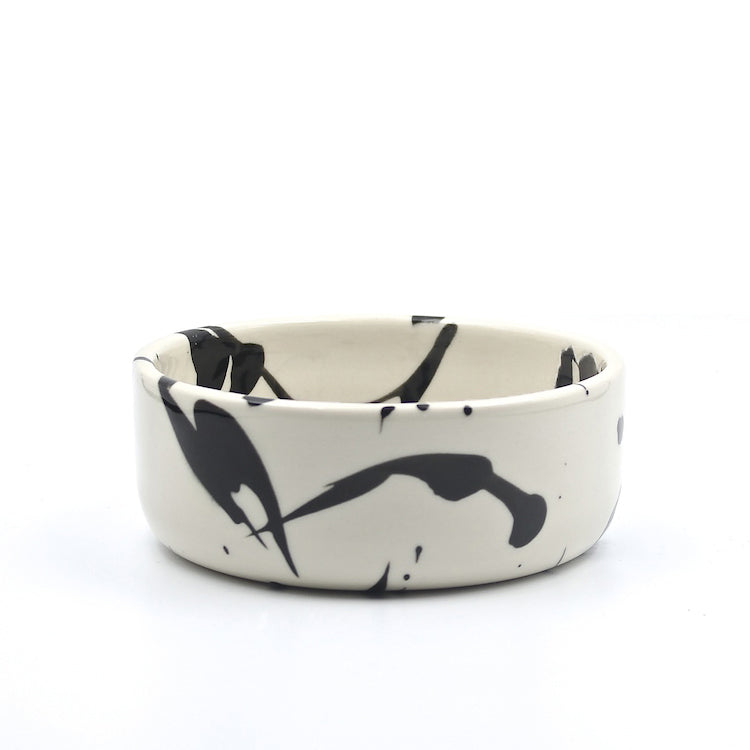White Torrent Dog Bowl