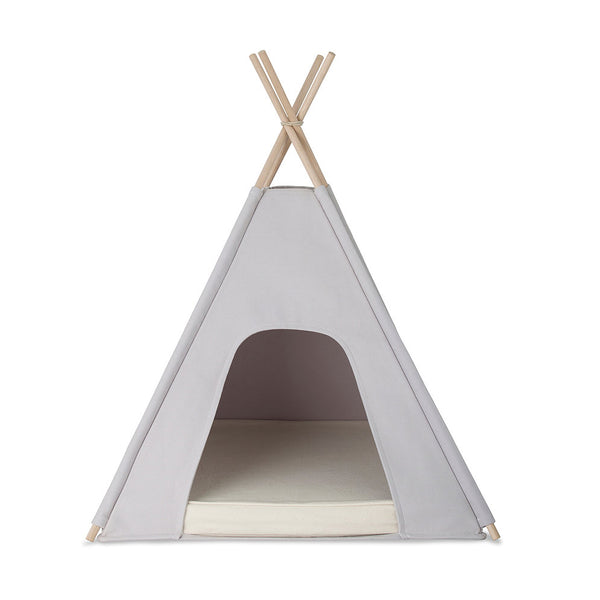 Teepee - Dove with Pebble Cushion