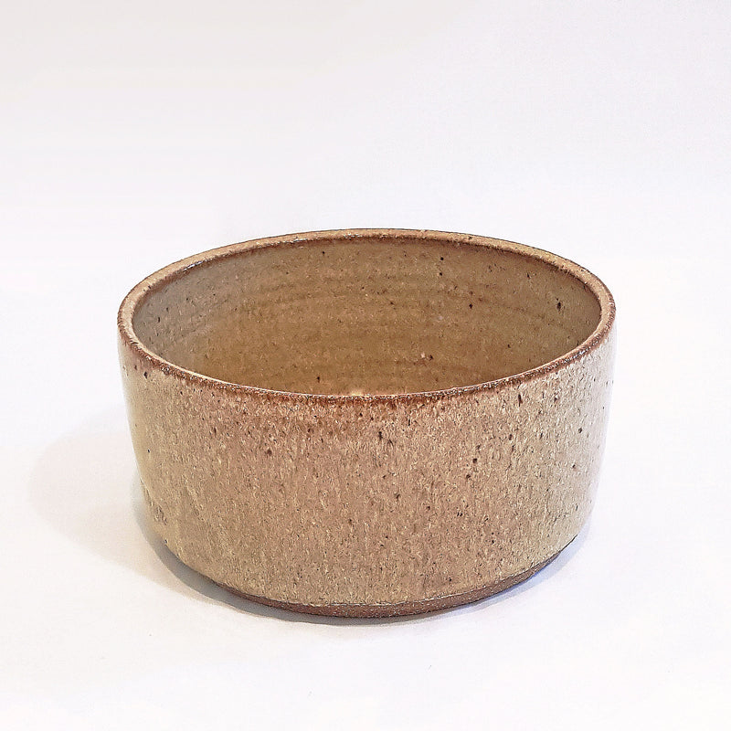 Gold Runner Ceramic Dog Bowl