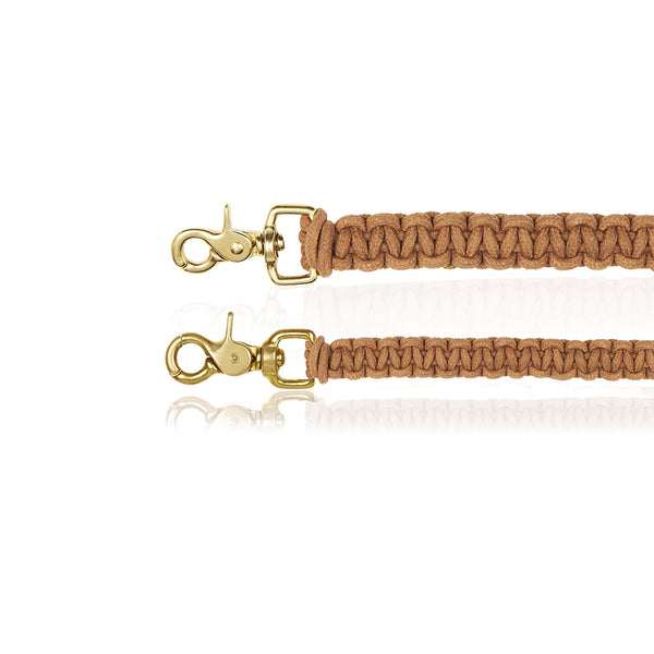 Macramé Originals Dog Lead - Biscuit