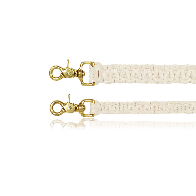 Macramé Originals Dog Lead - Natural