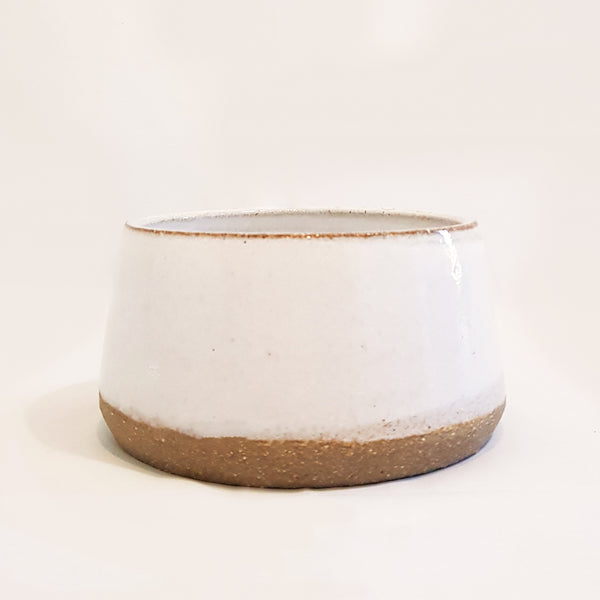 Snowstorm Long-Eared Ceramic Dog Bowl
