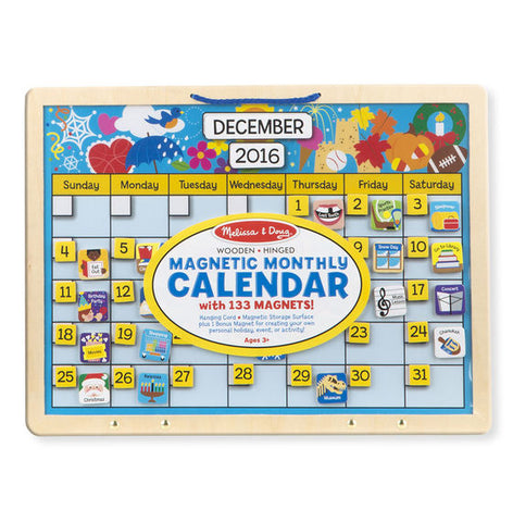 Monthly Magnetic Calendar