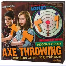 Warrior's Mark Foam Axe Throwing Kit