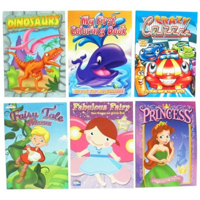 Coloring Books - Assorted