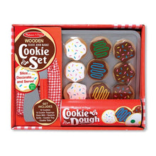 Load image into Gallery viewer, Slice and Bake Cookie Set - Wooden Play Food