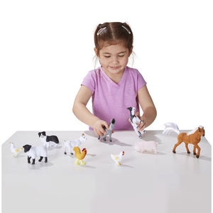 Farm Friends - 10 Collectible Farm Animals