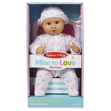 "Load image into Gallery viewer, Mariana 12"" Baby Doll - Melissa and Doug"