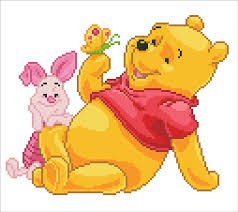 Pooh with Piglet Diamond Dotz kit