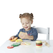 Load image into Gallery viewer, Sandwich Making Set - Wooden Play Food