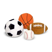 Load image into Gallery viewer, Sports Throw Pillows - Melissa and Doug