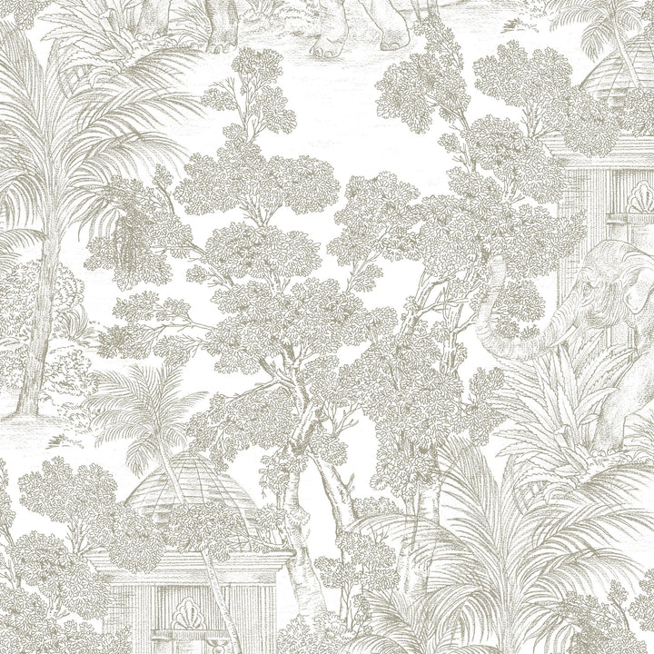 Tela JUNGLE LINO 14 WaterWash by MD - Muestra 15x20cm