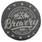 Engraved Slate Coaster 4pk