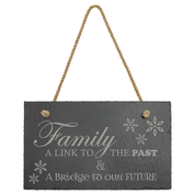 Personalized Slate Sign Rectangle