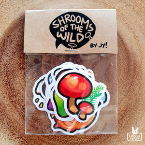 Sticker set | Shrooms of the wild
