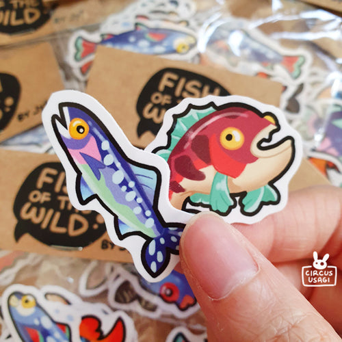 Sticker set | Fish of the wild