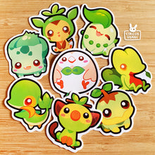 Load image into Gallery viewer, Sticker sets | Pkmn starters