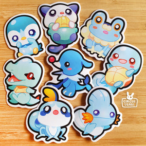 Sticker sets | Pkmn starters