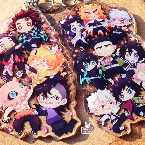 Acrylic charms | KNY team charms
