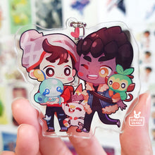 Load image into Gallery viewer, Acrylic charms | Pkmn swsh boys