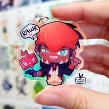 Load image into Gallery viewer, Acrylic (holo) charms | Raihan