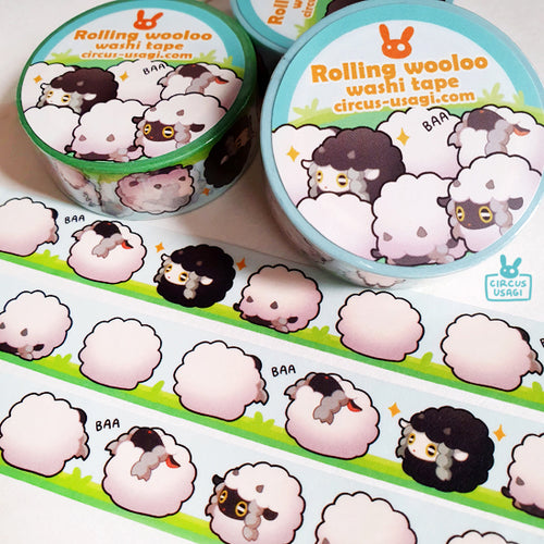 Washi tape | Rolling wooloo