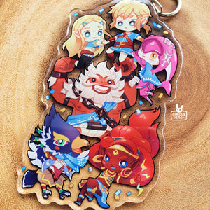 Acrylic charms | BOTW champions